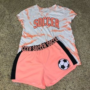 3/$30- Justice Soccer Outfit